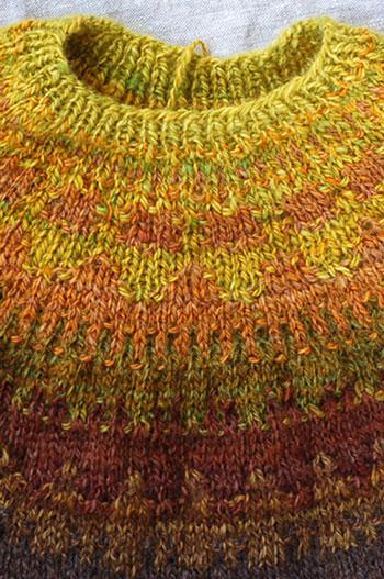 Bohus Yoke Sweater - Cardigan With Buttons
