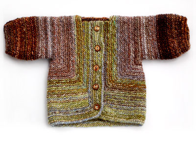 Pattern: Baby Surprise Jacket from The Opinionated Knitter by Elizabeth ...