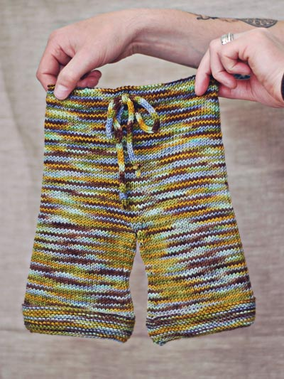 Finished Object- Baby Pants Hello Yarn
