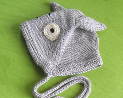 -my own pattern- definitely a prototype, as I have no baby to try it on